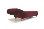 Mozart Diamond Mohair Analytic Couch